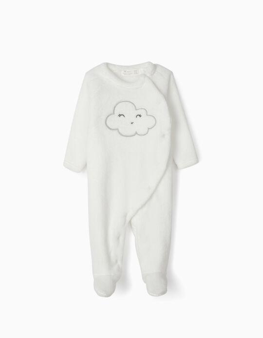 Pelele Coralina para Recién Nacido 'Cloud', Blanco