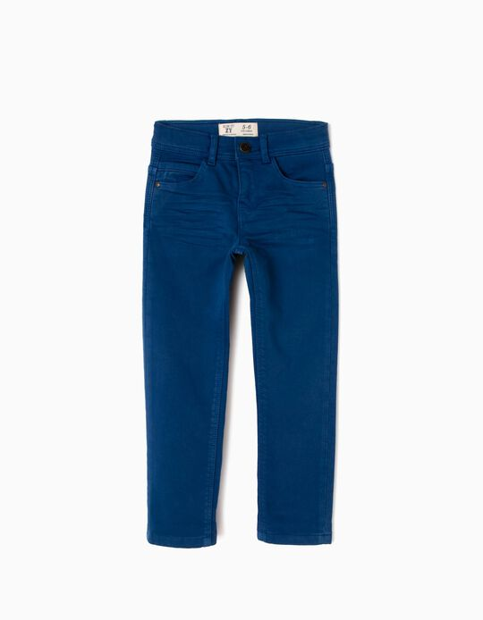 Pantalón Slim Fit Azul