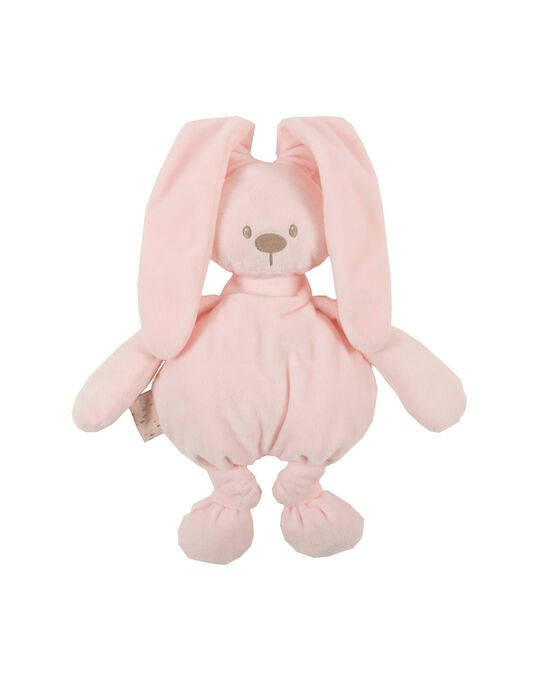 Pink Lapidou Bunny Soft Toy by Nattou