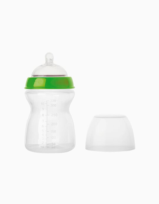Feeding Bottle 330ML XXL Saro, Green