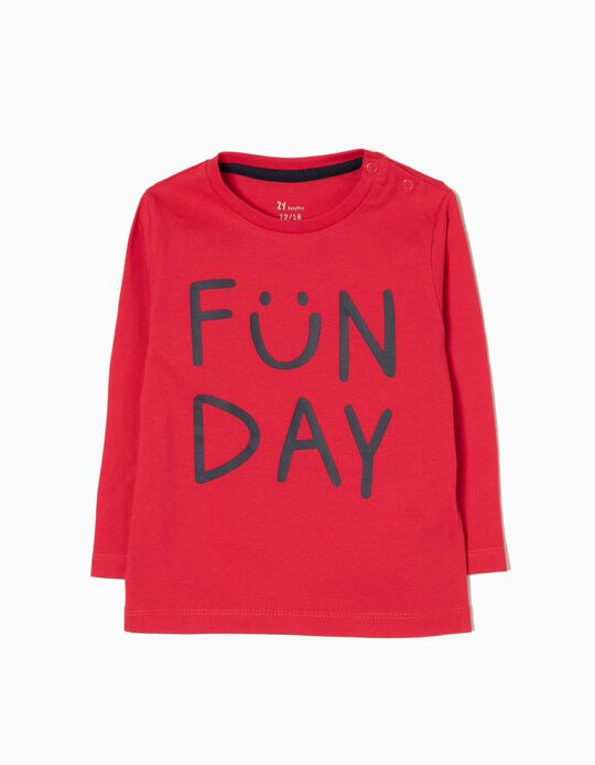 Camiseta de Manga Larga Funday