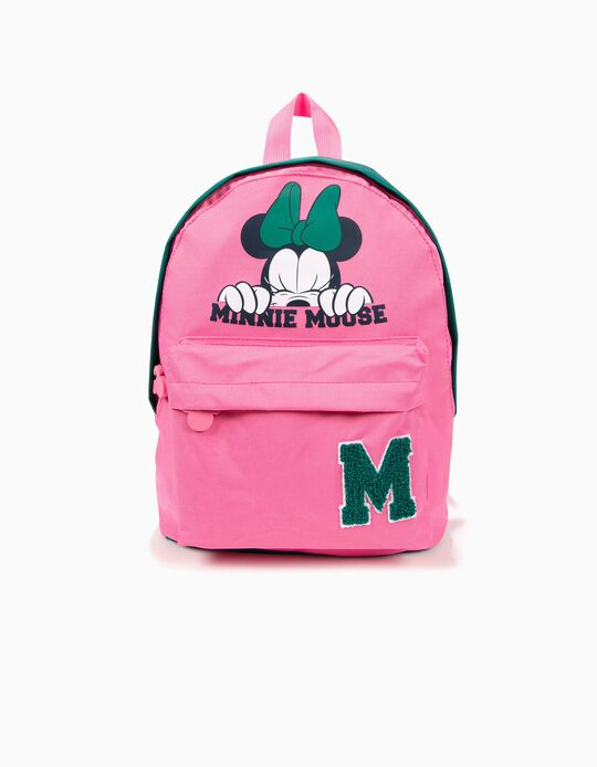Mochila Minnie Mouse Rosa e Verde
