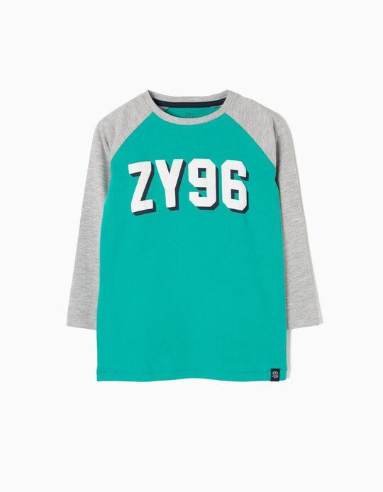 Camiseta de Manga Larga ZY 96