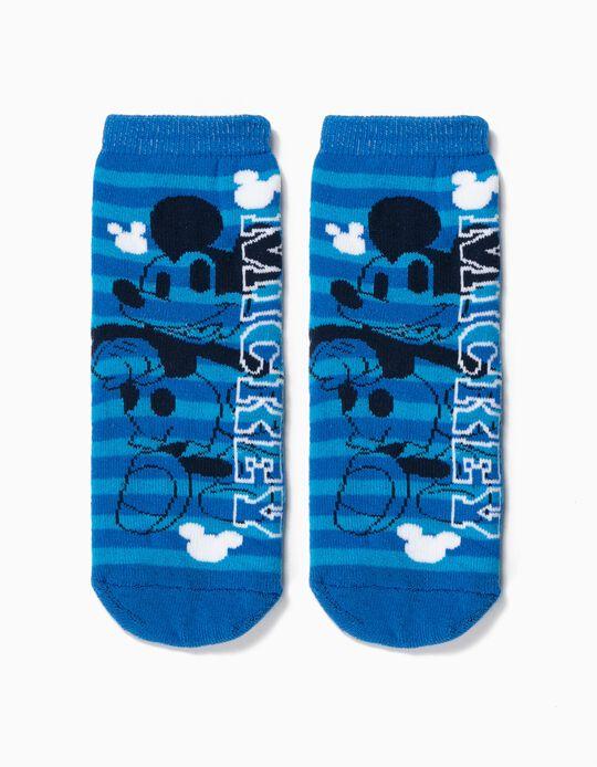 Calcetines Antideslizantes para Niño 'Mickey', Azul