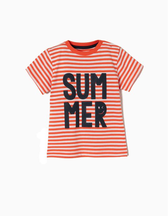 Camiseta Estampada Summer