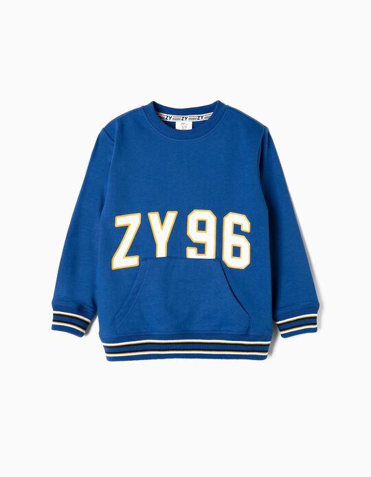 Sudadera para Niño 'ZY 96', Azul