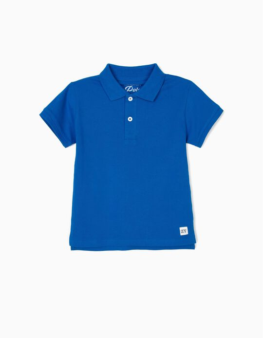 Polo Shirt for Boys, Blue