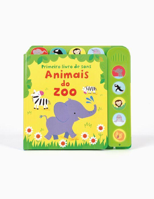 Livro Primeiro Livro De Sons Animais do Zoo Edicare