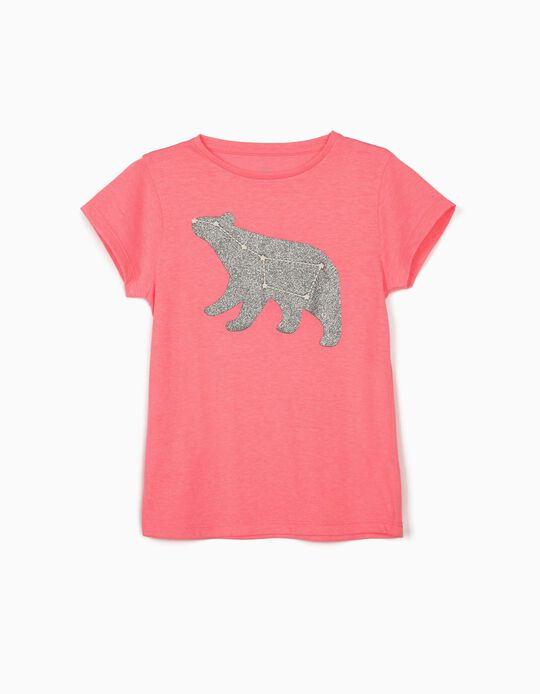 T-Shirt for Girls 'Ursa Major', Pink