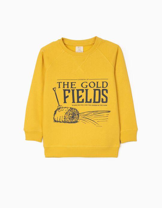 Sudadera para Niño 'Gold Fields', Amarillo