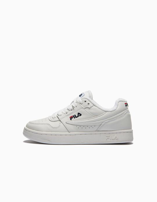 Trainers for Kids 'Fila Arcade', White