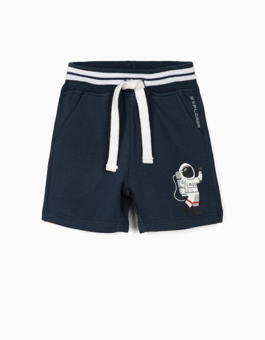 Sports Shorts for Baby Boys, Dark Blue