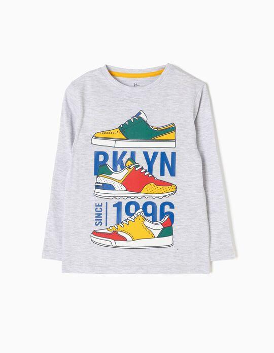 Camiseta de Manga Larga Sneakers