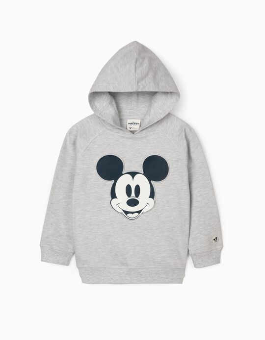 Sudadera con Capucha para Niño 'Mickey', Gris