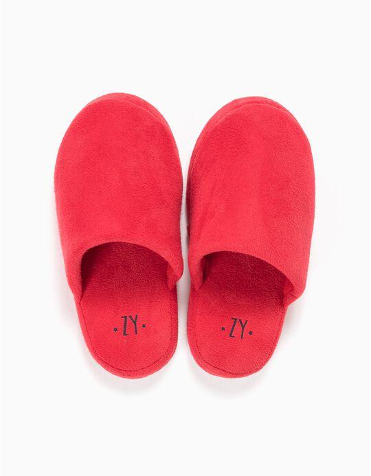 Pantuflas de Casa Rojos