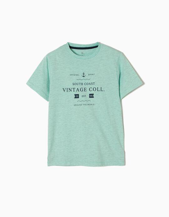 T-shirt Estampada Vintage Collection