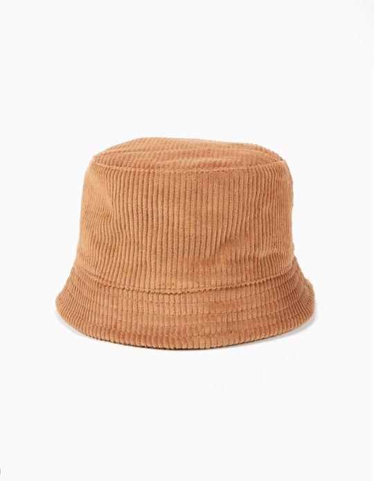 Sombrero de Pana Camel