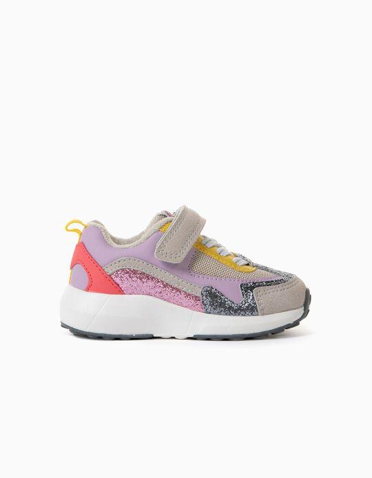 Sapatilhas para Bebé Menina 'ZY Superlight Runner', Multicolor