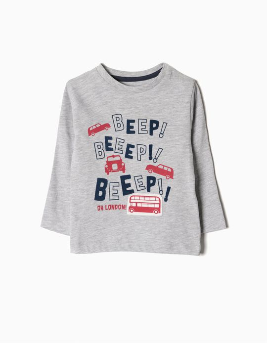 Camiseta Manga Larga Beep! Beep!