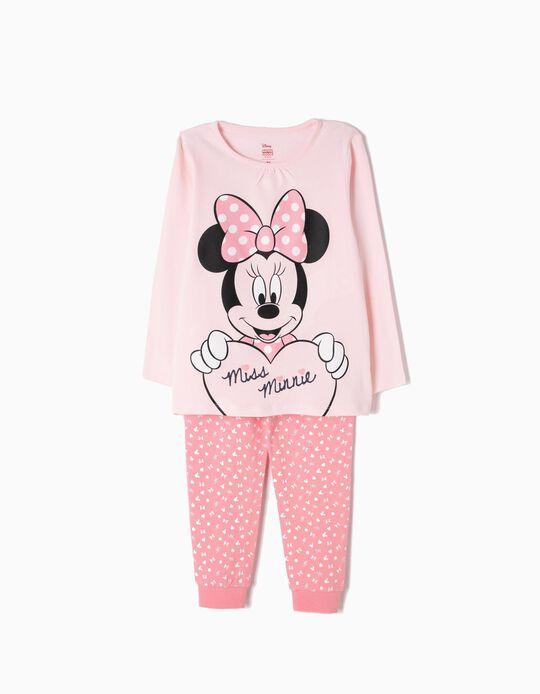 Pijama Manga Comprida e Calças Miss Minnie