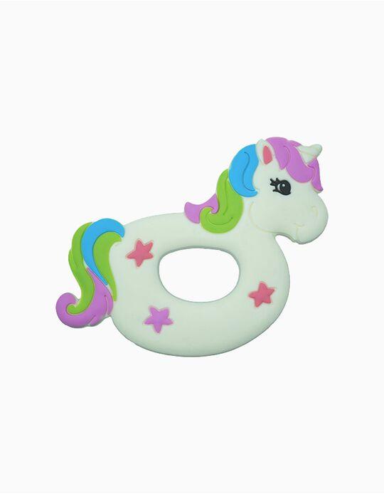 Unicorn Silicone Teether, Silli Chews