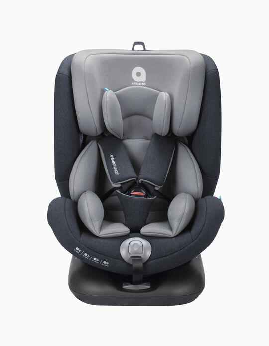 Car Seat Gr0/1/2/3 Unique Apramo Agate Grey