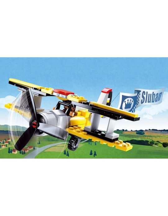 Aeroplane Construction by Sluban, 120 Pieces