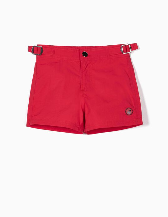 BEACHSHORTS LOLLIPOP, LIGHT RED1, 12/18M