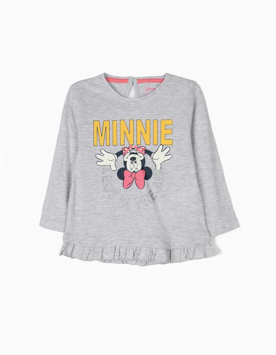 Camiseta Manga Larga Minnie Legs in the Air
