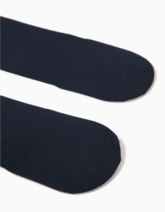 Collants 40 DEN Azul Marinho