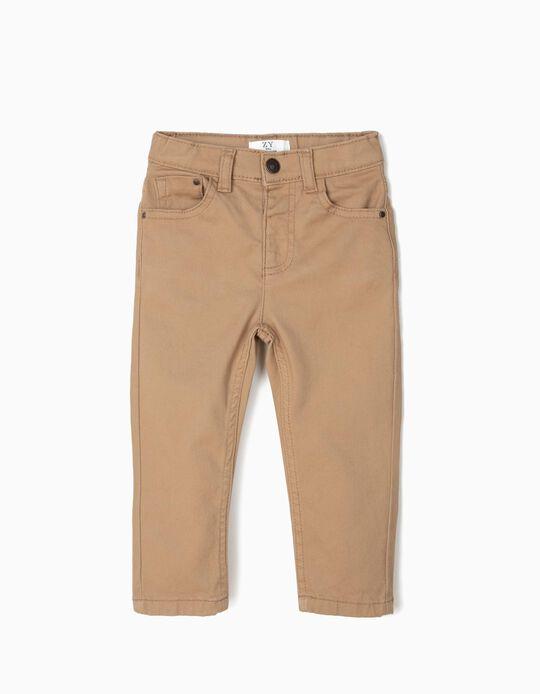 Pantalón para Bebé Niño, Camel