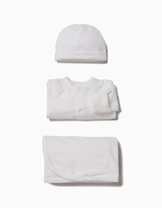 Conjunto 3 Prendas 1st Clothes Blanco