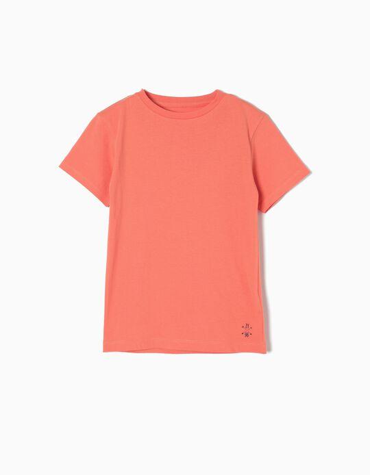 Camiseta de Punto Orange