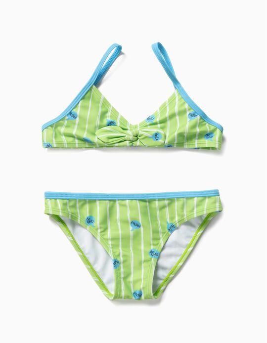 Bikini para Niña 'Be Kind', Verde