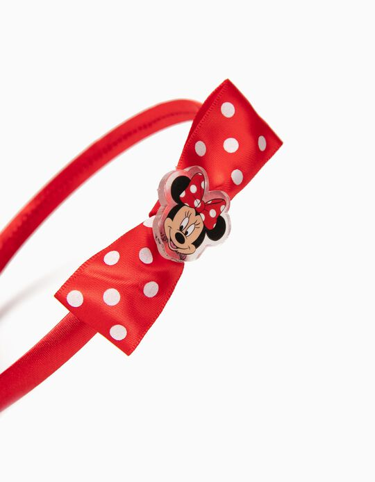 Diadema Minnie Roja