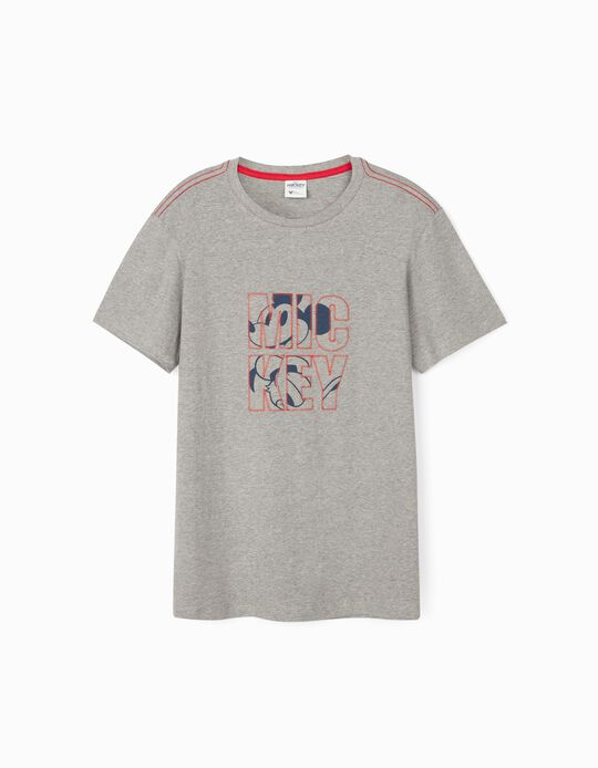 T-Shirt for Adults 'You & Me', Grey
