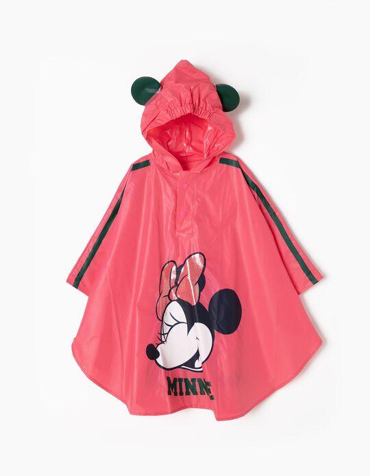 Capa Impermeável Rosa Minnie