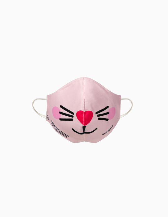 Child Face Mask 'High Comfort', Cat