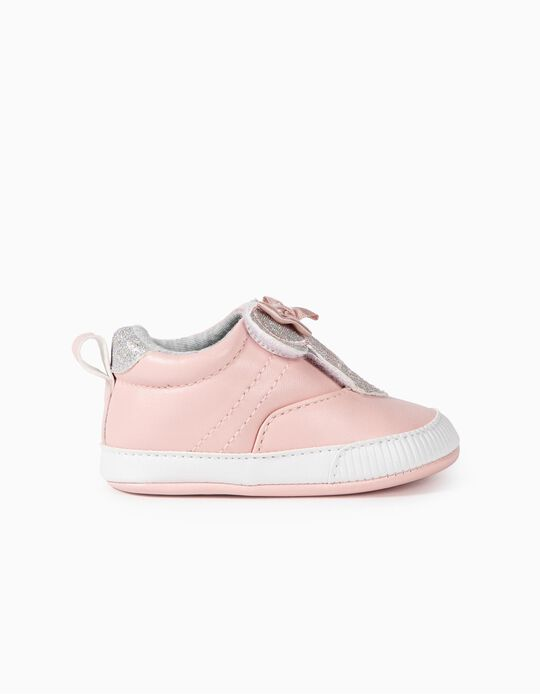 Trainers for Newborn Baby Girls 'Minnie Mouse', Pink