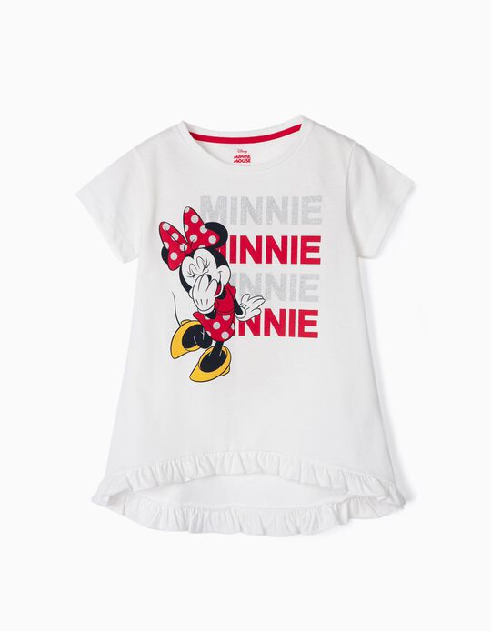 T-shirt for Girls 'Minnie', White