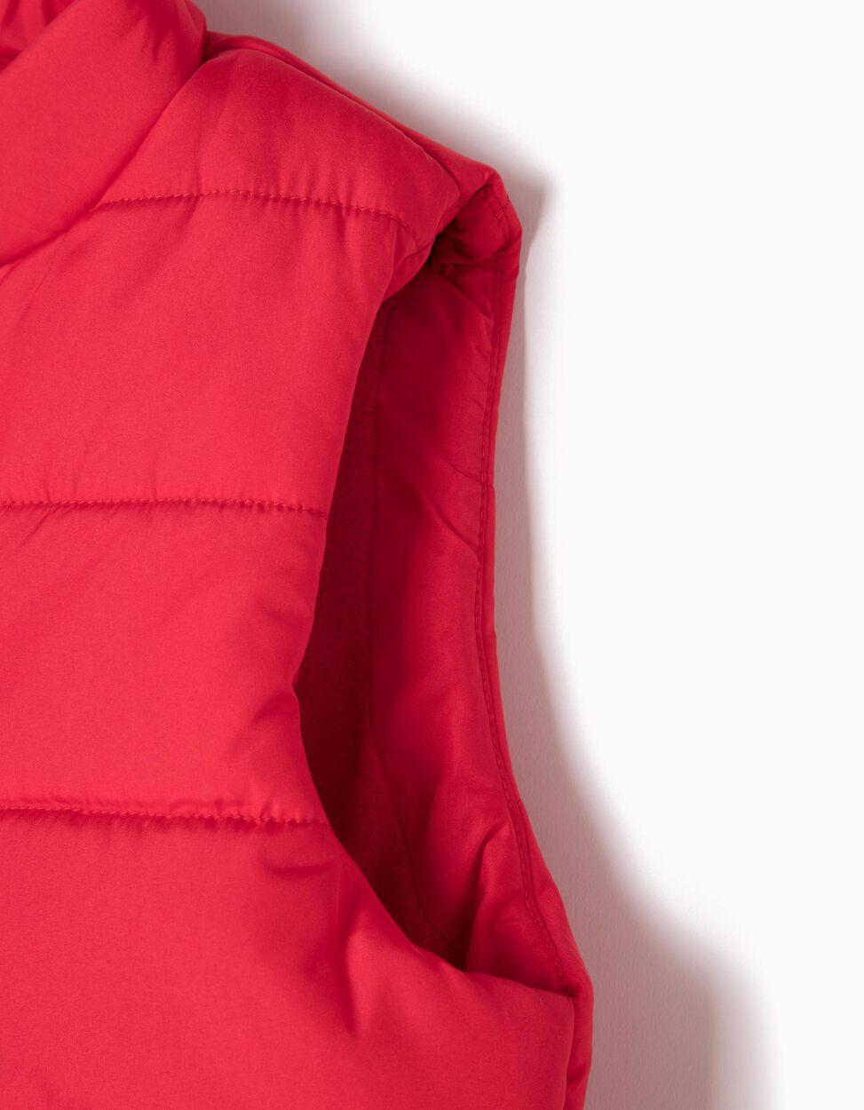 Chaleco Acolchado Rojo