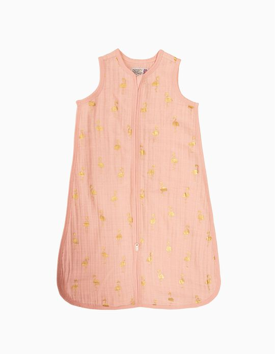 Saco de Dormir Mouss Gold Flamingo Tog 0.5 Bizzi Growin 0-6M