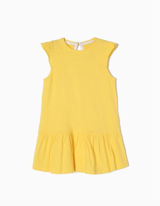 Vestido a Rayas Amarillo