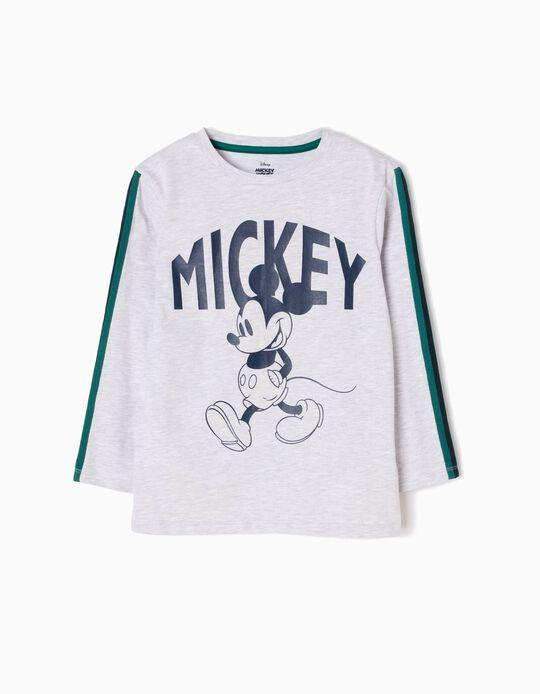 Camiseta Manga Larga Mickey Walking