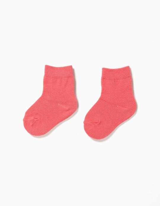 Pack 2 Pares de Calcetines Rosa
