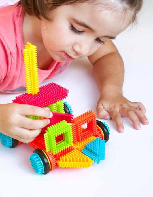 36-Piece Pegy Bricks by Miniland