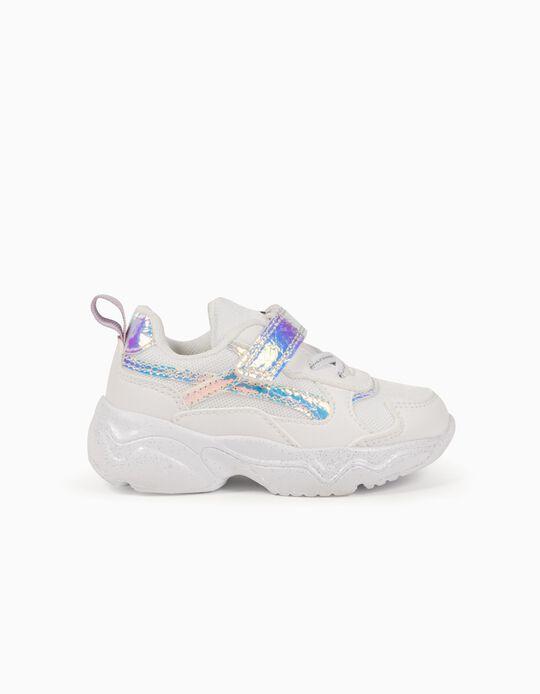 Sapatilhas para Bebé Menina 'ZY Superlight Runner', Branco