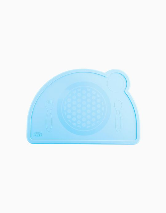 Tablette silicone Eat Easy Chicco bleue