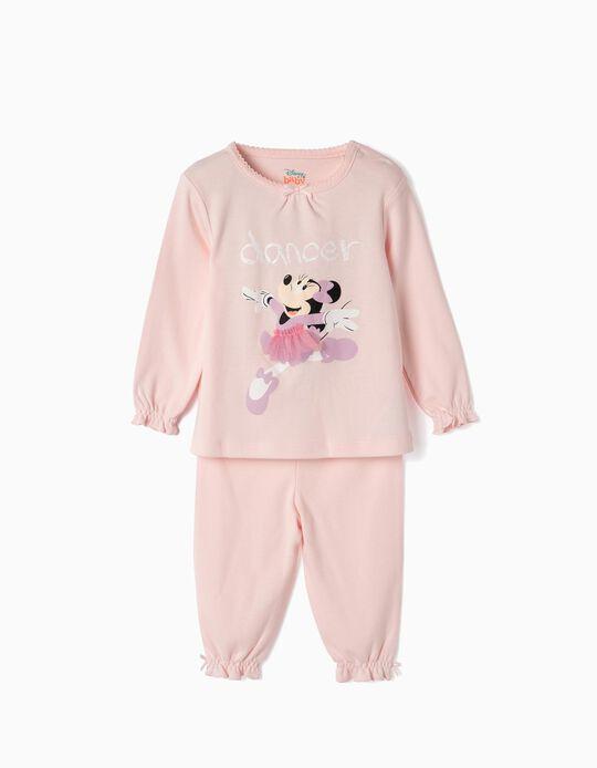 Pijama para Bebé Menina 'Minnie Ballerina', Rosa