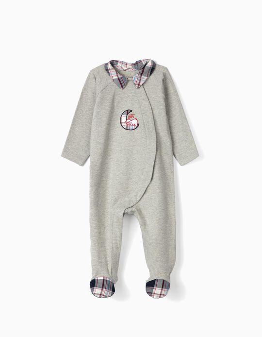 Babygrow para Bebé 'Sweet Dreams', Cinza